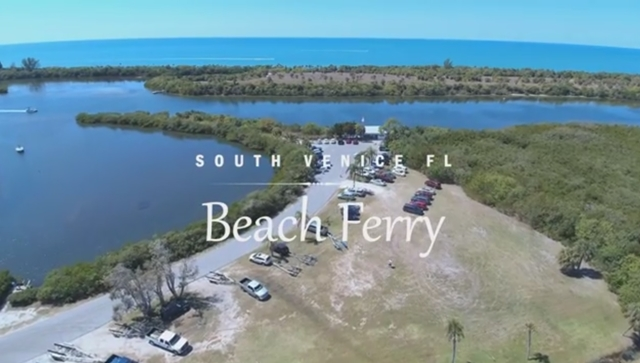 Our Ferry To South Venice Private Beach Let Us Take You On A Tour