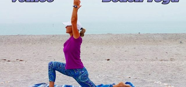 beach yoga in venice