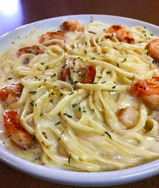 Pasta at Mama Maria's