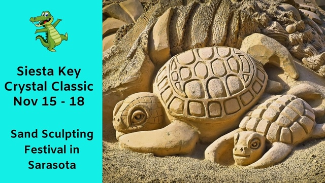 Siesta Key Sand Sculpting